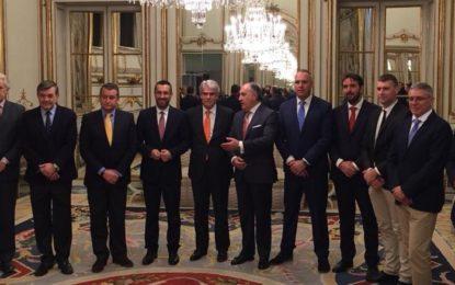 """Juan Franco califica de """"positiva"""" la reunión con el Ministro de Exteriores"""