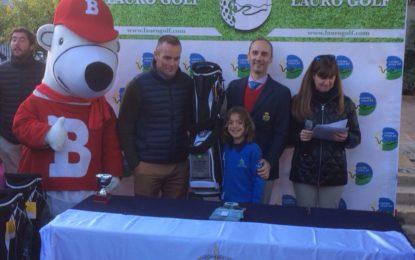 Daniel García Martín, niño linense de 9 años de edad, se proclama campeón de Andalucía del Pequecircuito de Golf 2017