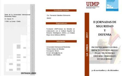 Inocencio Arias participa en las II Jornadas sobre Gibraltar y el Estrecho de la UIMP