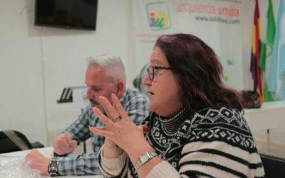 IU reclama al alcalde-concejal de Hacienda, la interventora y el tesorero su bajada de sueldo drástica e inmediata
