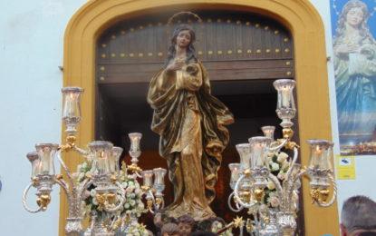"""Más de 400 alumnos participan en los programas de la Oferta Educativa """"Parroquia de la Inmaculada"""" y """"Visita al templo de la Patrona"""""""