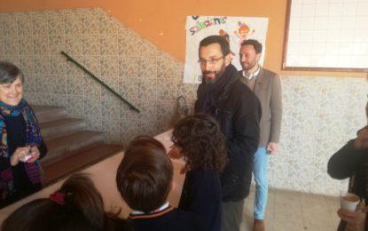 Franco participa en las actividades organizadas por el colegio Salesianos con motivo del Día de Don Bosco