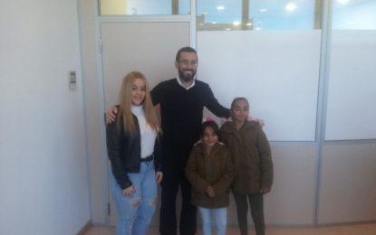 El alcalde recibe a las menores del club Dance Style que han resultado campeonas de Andalucía