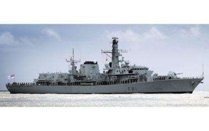 El buque de la Royal Navy, HMS Sutherland, visitará Gibraltar el viernes
