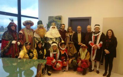 El alcalde recibe mañana a los Reyes Magos en el salón de plenos