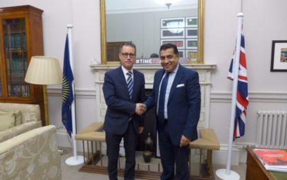 García se reúne en Londres con la Secretaria General de la Commonwealth y el Ministro británico para la Commonwealth
