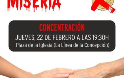 Mañana, concentración por las pensiones dignas en La Línea