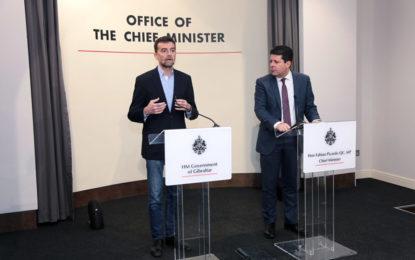 El Gobierno de Gibraltar e Izquierda Unida acuerdan trabajar juntos para que el Brexit no afecte a la zona