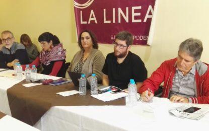 Teresa Rodríguez lamenta que el PP quiera «un Brexit duro por encima de los trabajadores del Campo de Gibraltar»