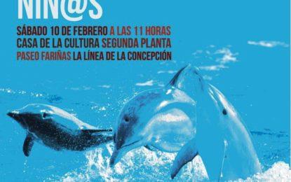 Reinici-arte organiza este sábado una actividad sobre los cetáceos en la Casa de la Cultura