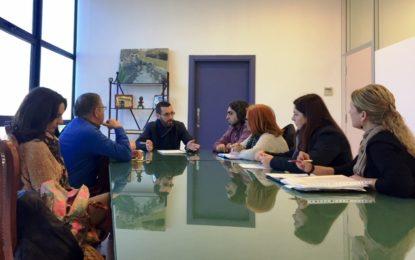 Franco aborda con representantes sindicales los nuevos protocolos de seguridad en el hospital