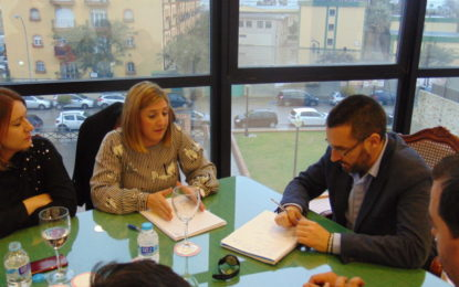 Irene García, presidenta de la Diputación, presenta el proyecto de la nueva Residencia de la Tercera Edad de Santa Margarita