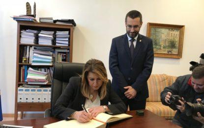 La Junta registrará ante Exteriores una propuesta para la creación de una Agrupación de Cooperación Transfronteriza con identidad propia