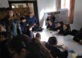 """Estudiantes linenses conocen el mundo de la radioafición con una visita a la exposición  """"La Radio que burló el bloqueo a Gibraltar»"""