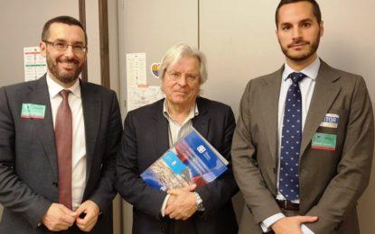Franco se reúne con el declarado anti gibraltareño Javier Nart