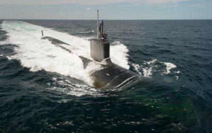 El submarino estadounidense USS John Warner llegará a la base de la Royal Navy de Gibraltar