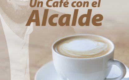 'Un café con el alcalde' tendrá periodicidad mensual y se celebrará el primer jueves de cada mes