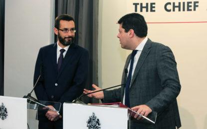 Franco analiza con Fabián Picardo las últimas actuaciones en torno al Bréxit