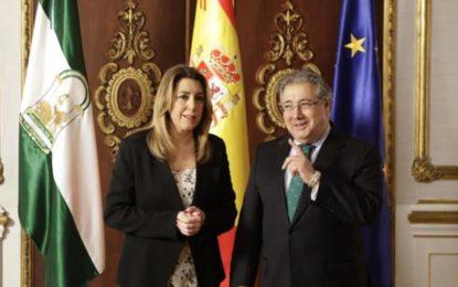 Zoido y Susana Díaz unen fuerzas para garantizar la seguridad en el Campo de Gibraltar