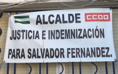 CCOO sigue reclamando justicia para Salvador Fernández Torres