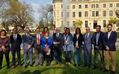 Franco asiste en Jerez a una reunión para definir  inversiones de los ITI en mejoras para barriadas vulnerables