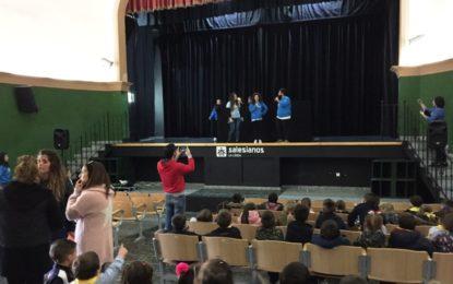 """El alcalde asiste en el colegio Salesianos al inicio del programa """"Primeros pasos"""" de la Oferta Educativa desarrollado por Esperanza de Vida"""
