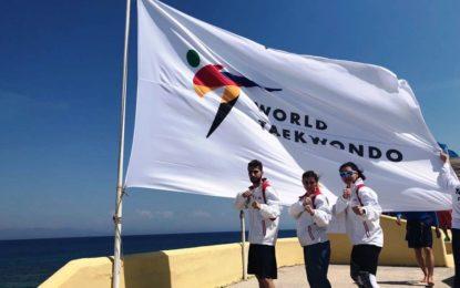 Helenio Lucas Fernández felicita al club Seul-Gym-Hércules tras el éxito obtenido en el Mundial de Taekwondo Olímpico