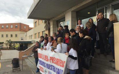 El PSOE se vuelca con los trabajadores sanitarios