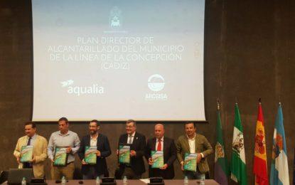 Mancomunidad presenta en La Línea una inversión cercana a los 32 millones de euros para solucionar definitivamente los problemas de alcantarillado y saneamiento