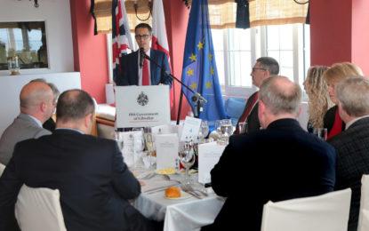 Joseph García afirma que Gibraltar «no cederá una pulgada sobre la soberanía»