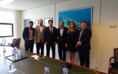 Los cofundadores de Oxygen visitan Gibraltar