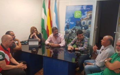 Juan Pablo Arriaga se reúne con los representantes del sindicato CSIF