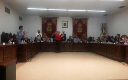 El pleno aprueba por unanimidad la firma de un convenio con Diputación para el desarrollo de la administración electrónica