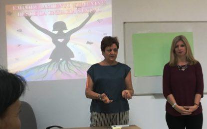 Igualdad ofreció un taller sobre estereotipos y sexualidad en la mujer