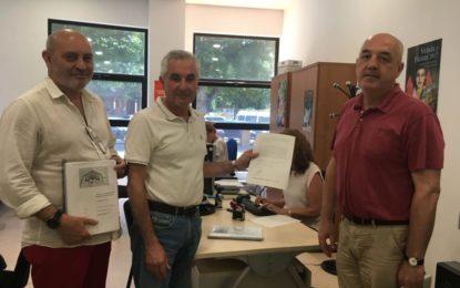 Registro de la memoria para solicitar subvención para la 1ª fase fuerte Santa Barbara