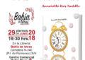 """Presentación y firma del libro """"No Hay Tiempo"""" de Annabelle Rios, en la librería Bahía de Letras, en el C.C. Bahía Plaza en Palmones"""