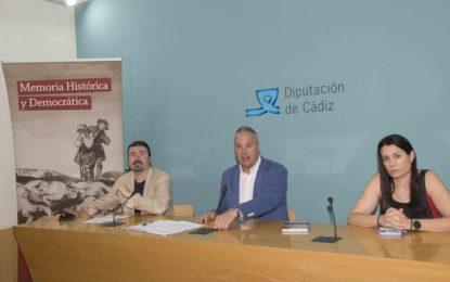 Diputación colabora en dos seminarios en Cádiz y San Roque sobre Memoria Histórica dentro de los cursos de verano de la UCA