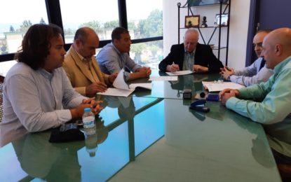 Firmado el contrato con la empresa Recolte para la ejecución del proyecto de obras de remodelación de Parque Torrenueva