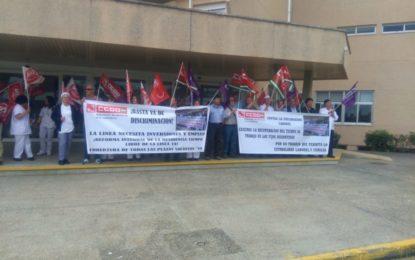 La plantilla de Tiempo Libre en La Línea endurecerá sus medidas de protesta