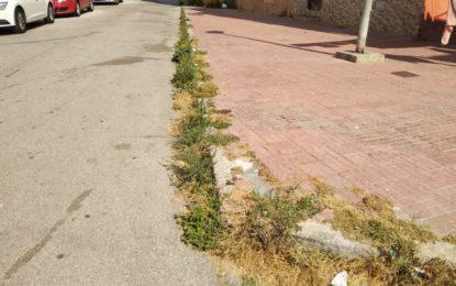 Villar comprueba que el estado de las barriadas roza la insalubridad por el abandono del Gobierno municipal (galería de fotos)