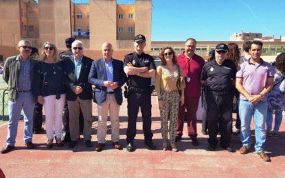 Rosa López y Helenio Fernández asistieron  a la exhibición policial del Plan Director de convivencia y seguridad en centros educativos