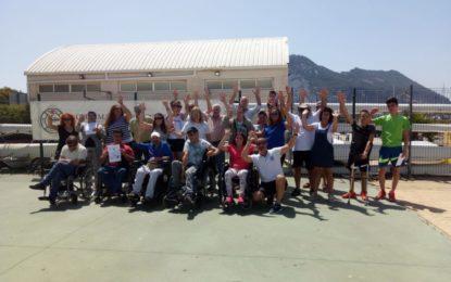 """Finaliza la semana de vela y discapacidad """"Navega 10"""""""