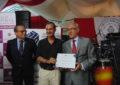 Merecido homenaje de Apymel a Guillermo Ruiz Calama y a Manolo Rodríguez