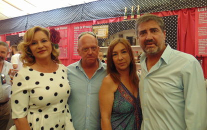 Grupo Alcaidesa ofreció su copa en la Caseta de El Encuentro