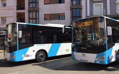 El número de viajeros en autobús urbano crece significativamente durante  el primer año del nuevo servicio