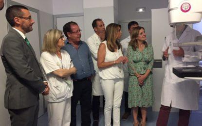Susana Díaz inaugura el hospital comarcal de La Línea y anuncia mejoras en la sanidad andaluza