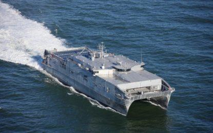 El USNS Yuma llega a Gibraltar