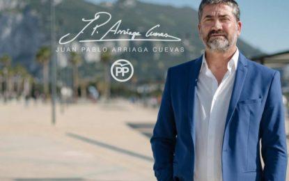 Juan Pablo Arriaga reclama soluciones para los comerciantes de la zona centro