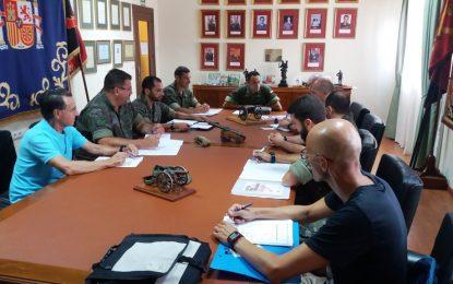 El Ayuntamiento y el Regimiento de Artillería Antiaérea 74 preparan la Jura de Bandera Civil del 6 de diciembre