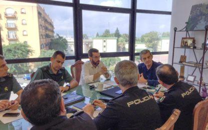 La Mesa de Seguridad de La Línea se integra en la Mesa de Coordinación Operativa comarcal y tendrá periodicidad quincenal